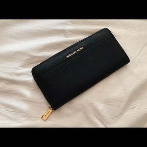 Michael Kors Large Black Wallet